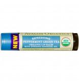 Avalon Organics Peppermint Green Tea Lip 4.2G