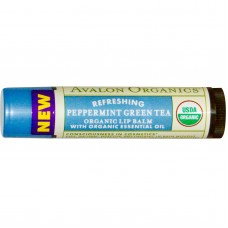 Avalon Organics Peppermint Green Tea Lip 4.2G